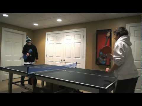 Hardcore Ping Pong (Slender: The Film - Blooper)